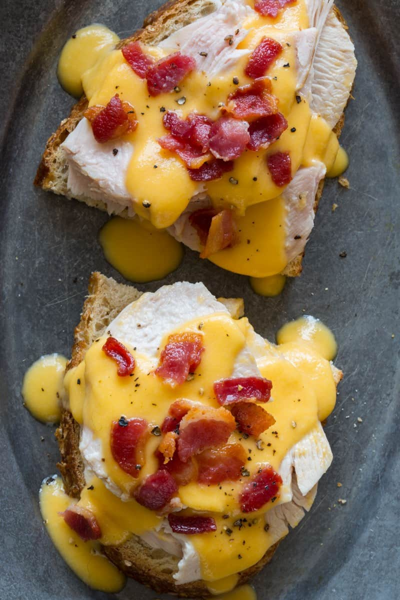 A recipe for Hot Brown, a dish from Kentucky.