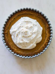 A recipe for Spiced Butternut Squash Pie.