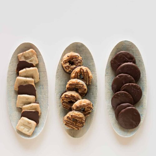 A recipe for Girl Scout Cookies.