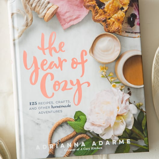 The year of cozy cookbook.