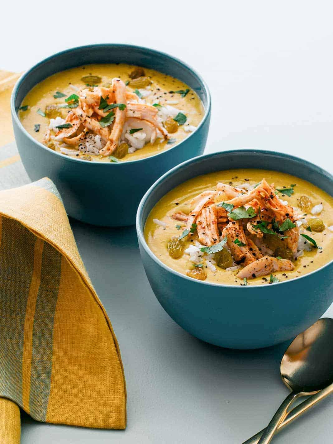 chicken Mulligatawny soup recipe.