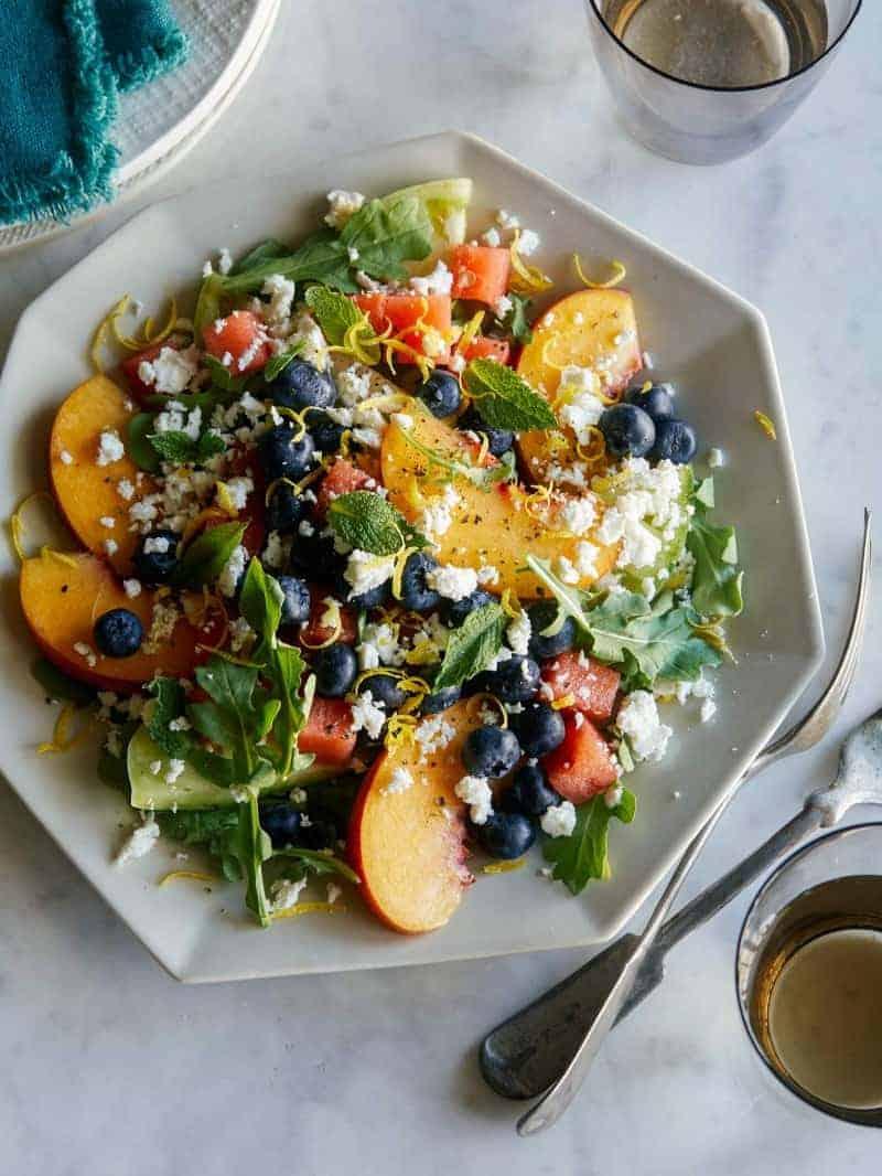 End of Summer Fruit Salad