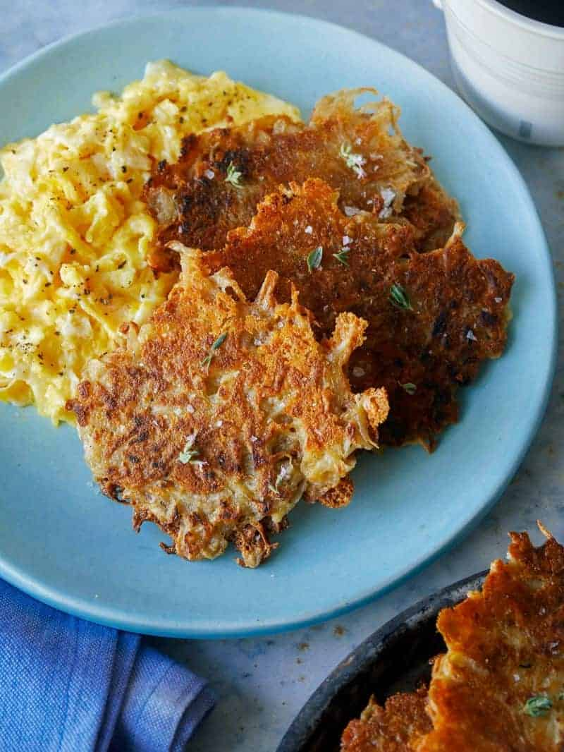 Crispy and Cheesy Hash Browns
