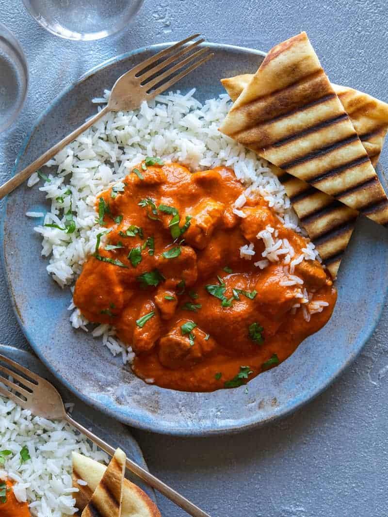 Indian Butter Chicken or Chicken Makhani recipe