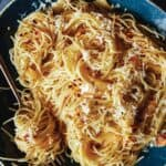 Garlic and Lemon Capellini