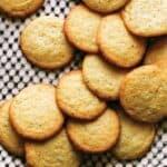 Chewy lemon cookie recipe.