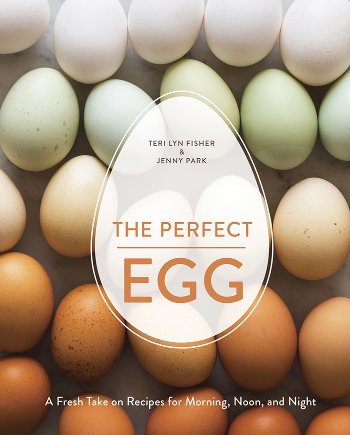 The cover of The Perfect Egg by Teri Lyn Fisher and Jenny Park.