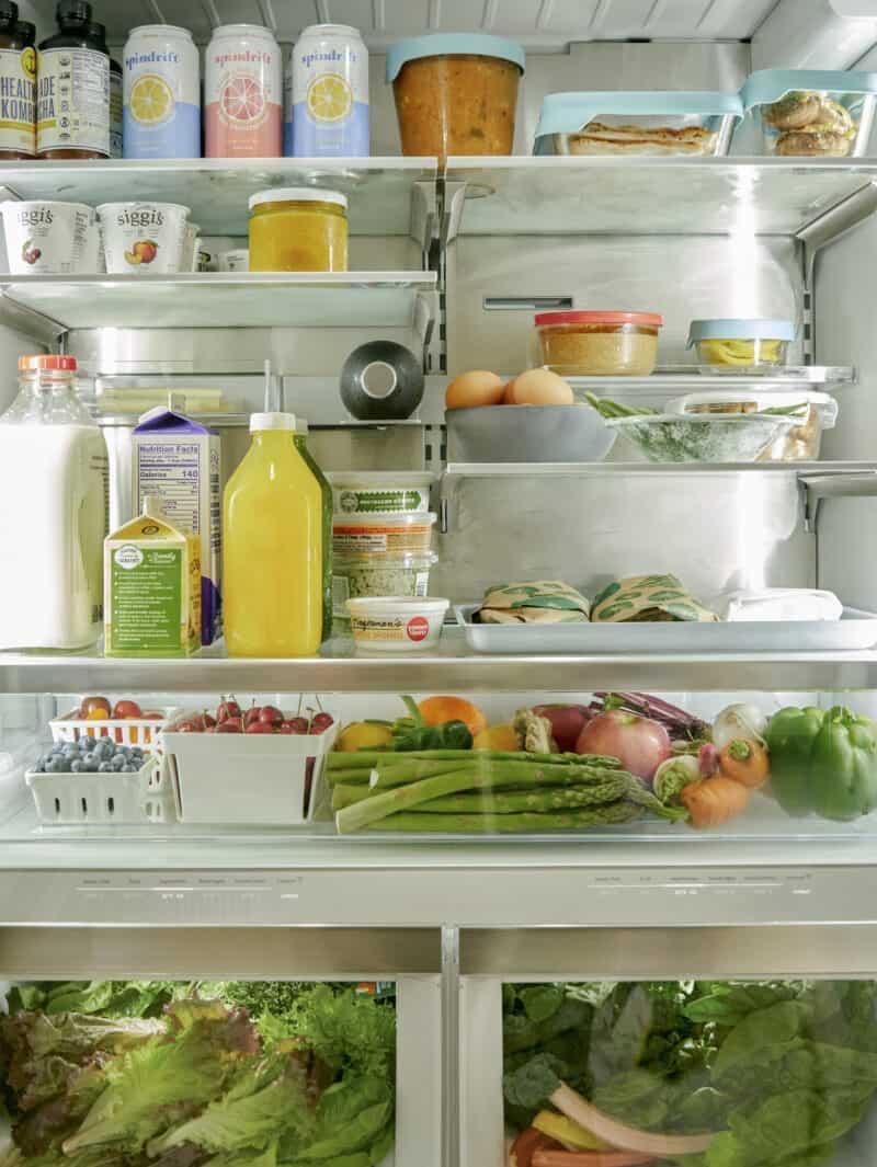 refrigerator organization image.