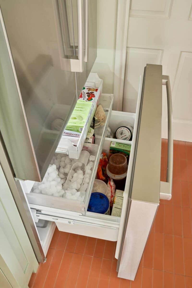 Freezer organization.