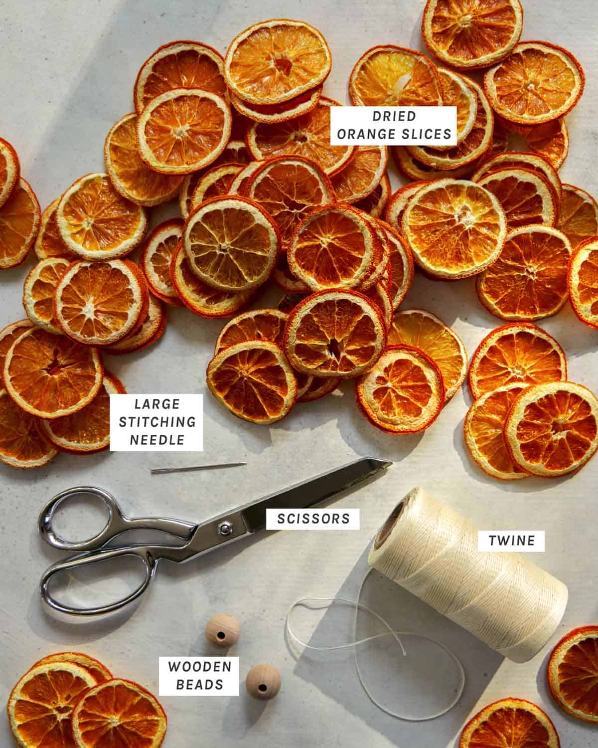 Dehydrated Citrus Garland Diy Spoon Fork Bacon