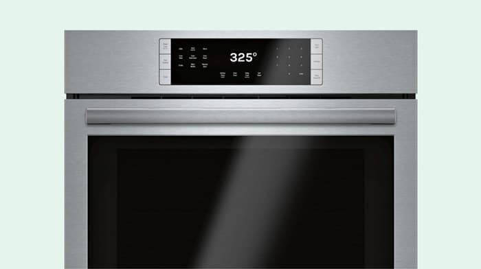 An oven preheated to 325 degrees.