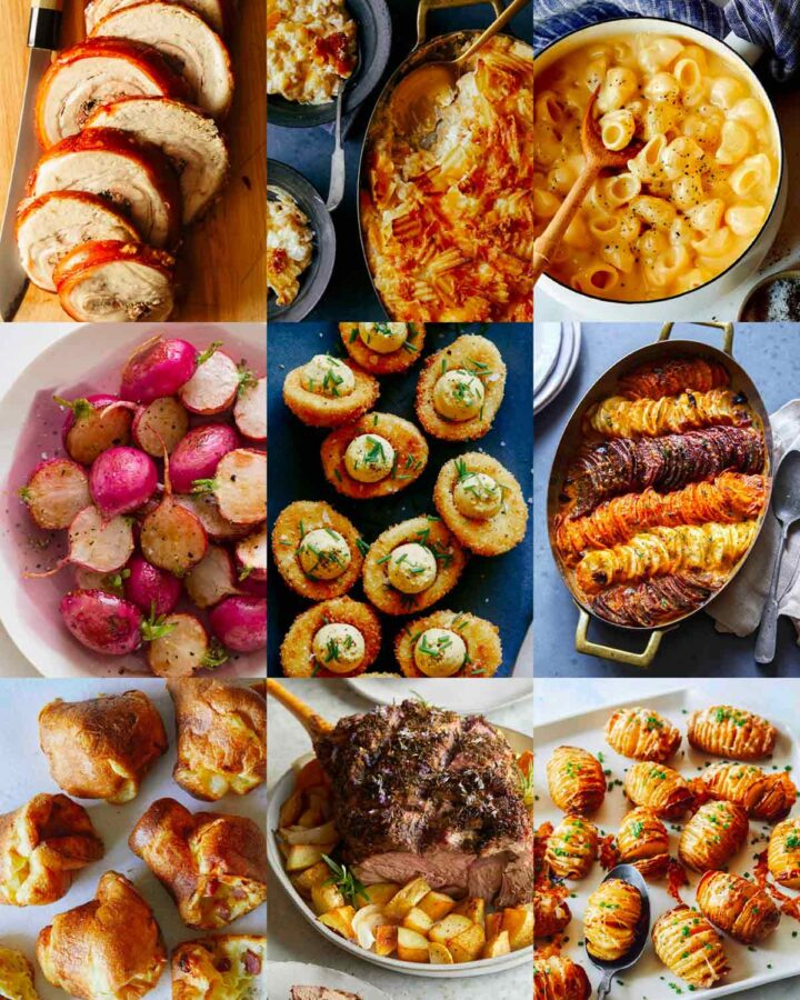 A collage of our Best Easter Dinners!