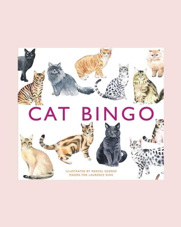 Cat bingo game for Mothers day.