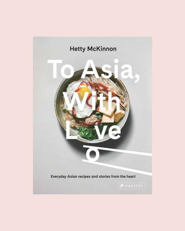 To Asia with love cookbook.