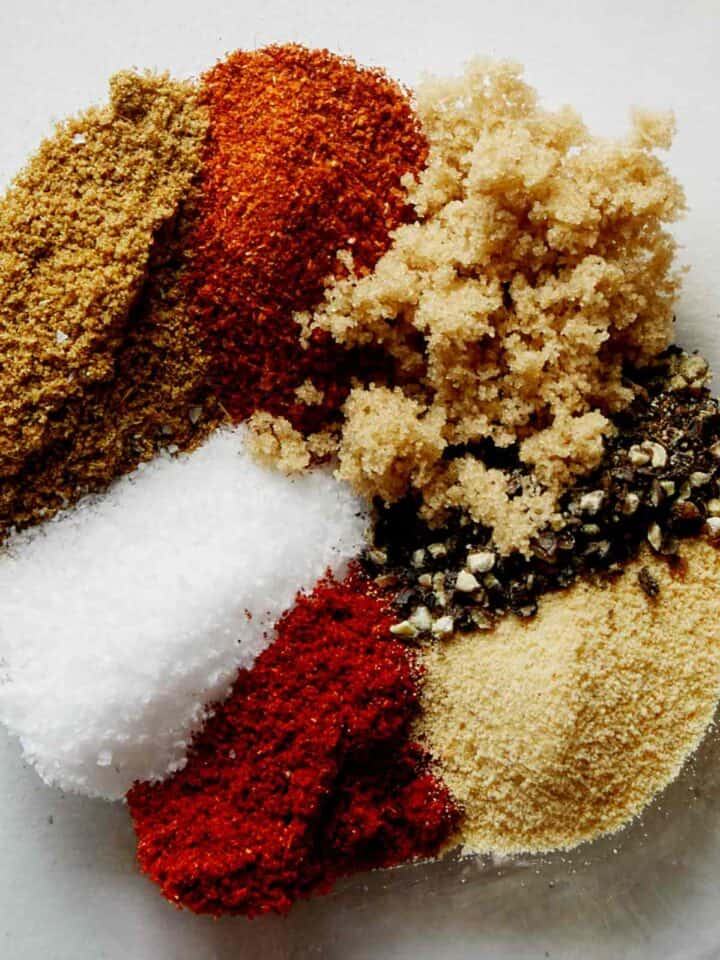 Fajita Spice recipe in a bowl.