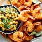 Coconut shrimp recipe.