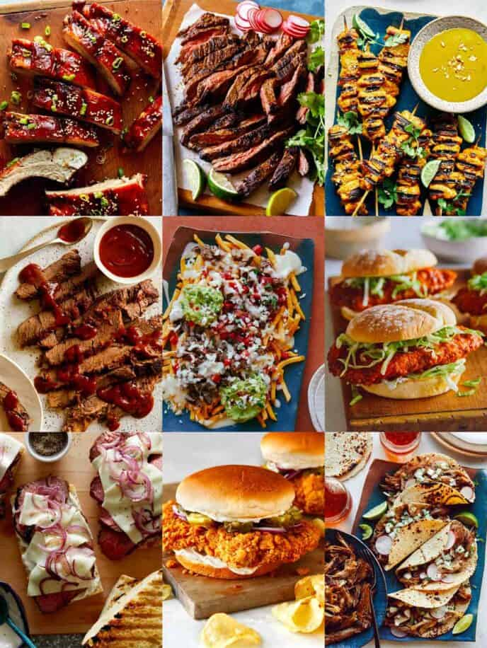 Roundup of our best Fathers Day Dinner recipes!