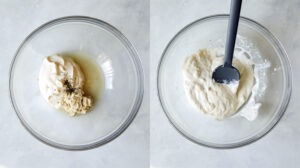 The start of making Hawaiian style macaroni salad.