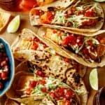 Baja fish tacos recipe.